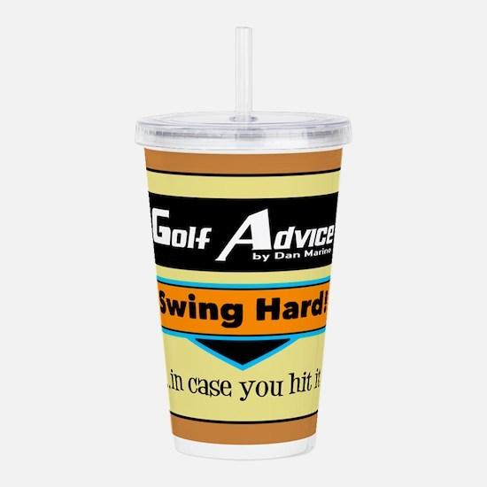 Swing Hard Acrylic Double-wall Tumbler
