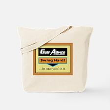 Swing Hard Tote Bag
