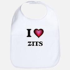 I love Zits Baby Bib