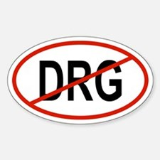 DRG Oval Decal