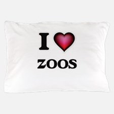 I love Zoos Pillow Case