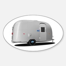 Vintage Airstream Oval Decal