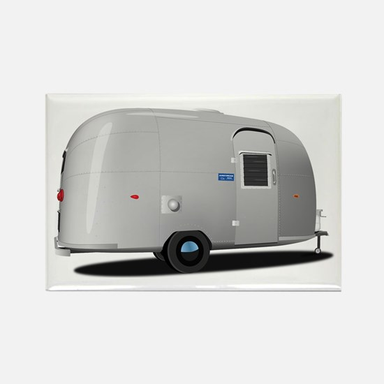Vintage Airstream Rectangle Magnet