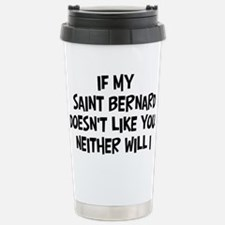 Unique Saint Travel Mug