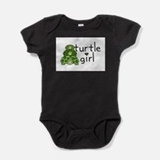 turtle girl Infant Creeper Body Suit