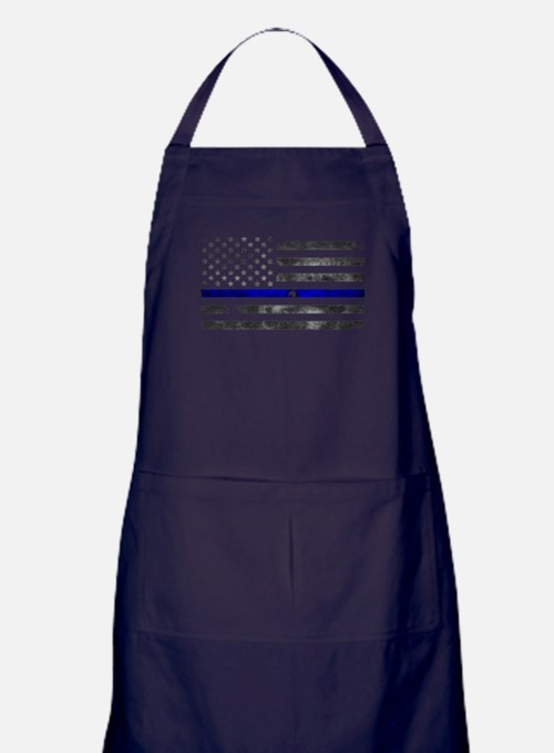 Blue Lives Matter - Police Officer Gi Apron (dark)