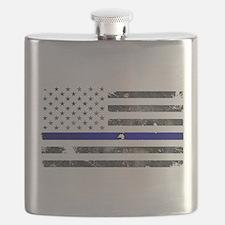 Blue Lives Matter - Police Officer Gifts Flask