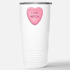 Cute Hearts Thermos Mug