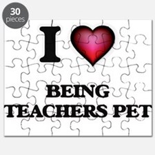 I love Being Teachers Pet Puzzle