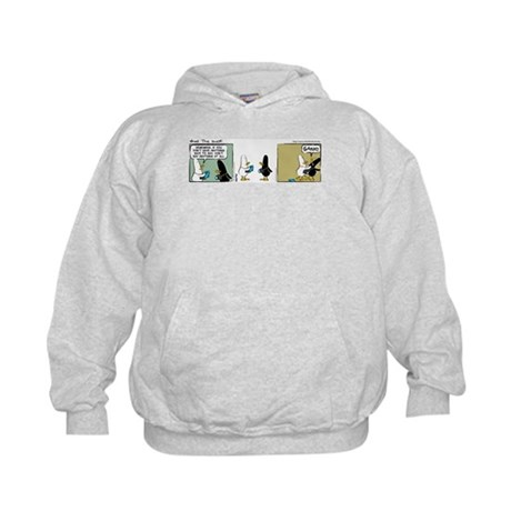 "WTD: ""No Comment"" Kids Hoodie"