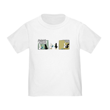 """WTD: """"No Comment"""" Toddler T-Shirt"""