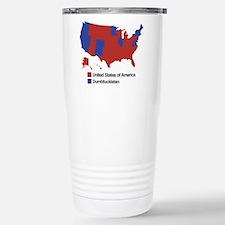 Dumbfuckistan Stainless Steel Travel Mug