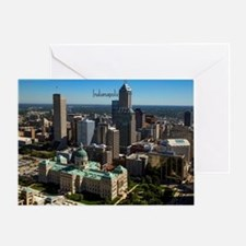 Cute Indianapolis indiana Greeting Card