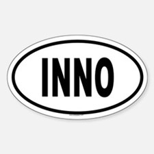 INNO Oval Decal