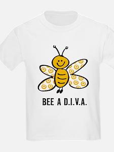 Yellow Bee A D.I.V.A. T-Shirt
