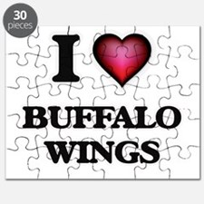 I love Buffalo Wings Puzzle