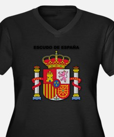 Kingdom of Spain_Go... Plus Size T-Shirt