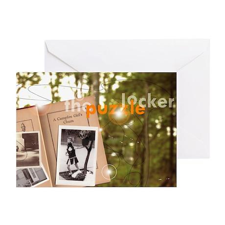 Puzzle Locker Greeting Cards (Pk of 10)