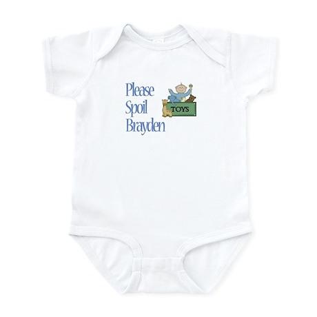 Please Spoil Brayden Infant Bodysuit
