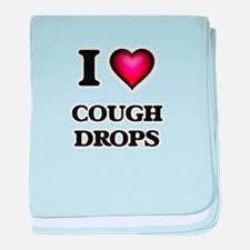 I love Cough Drops baby blanket