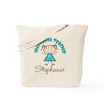 Personalized Preschool Teacher Tote Bag