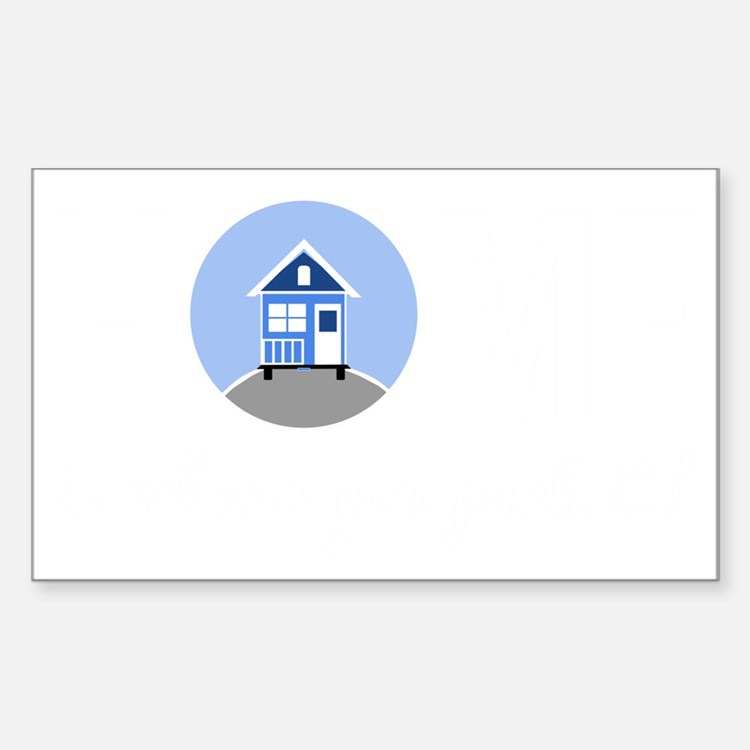 Cute Tiny houses Decal