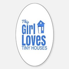 Tiny houses Decal