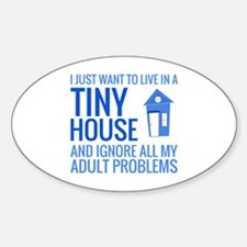 Unique Tiny houses Decal