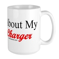 """Ask About My Charger"" Mug"