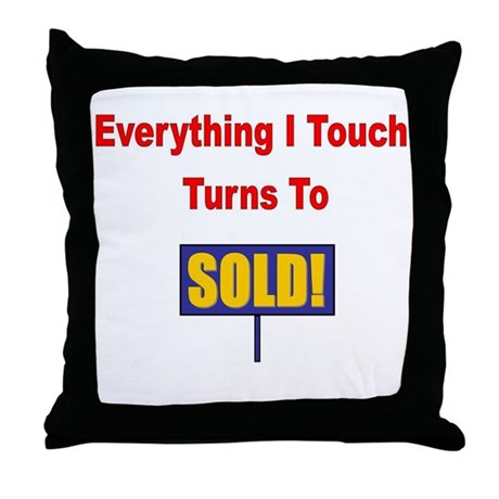 Turns to sold!!! Throw Pillow