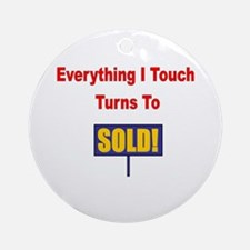 Turns to sold!!! Ornament (Round)