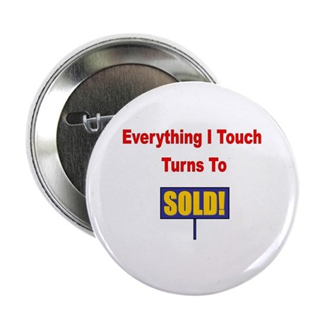 """Turns to sold!!! 2.25"""" Button (10 pack)"""