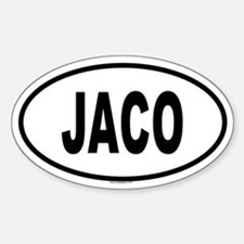 JACO Oval Decal