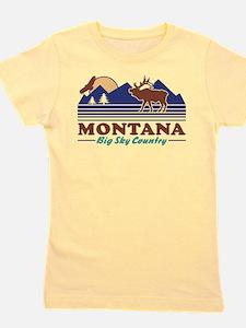 Montana Big Sky Country Girl's Tee