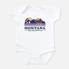 Montana Big Sky Country Infant Bodysuit