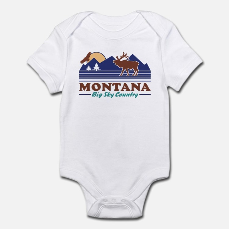 Montana Big Sky Country Infant Bodysuit