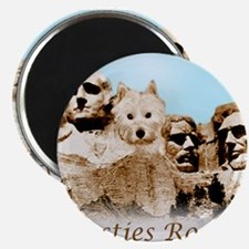 Westies Rock Magnets
