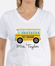 Personalized 1st Grade Teacher T-Shirt