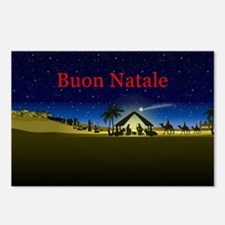 Nativity Buon Natale Postcards (Package of 8)