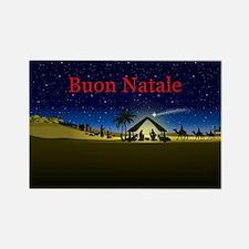 Nativity Buon Natale Magnets