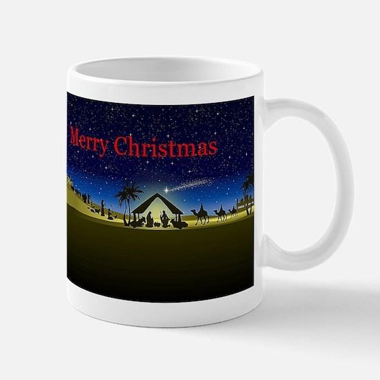 Nativity Merry Christmas Mugs