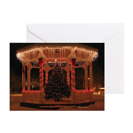 Holiday Gazebo Greeting Cards (Pk of 10)