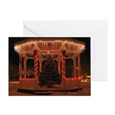 Holiday Gazebo Greeting Card