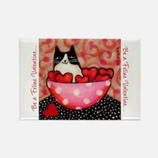Be a Feline Valentine! Magnets