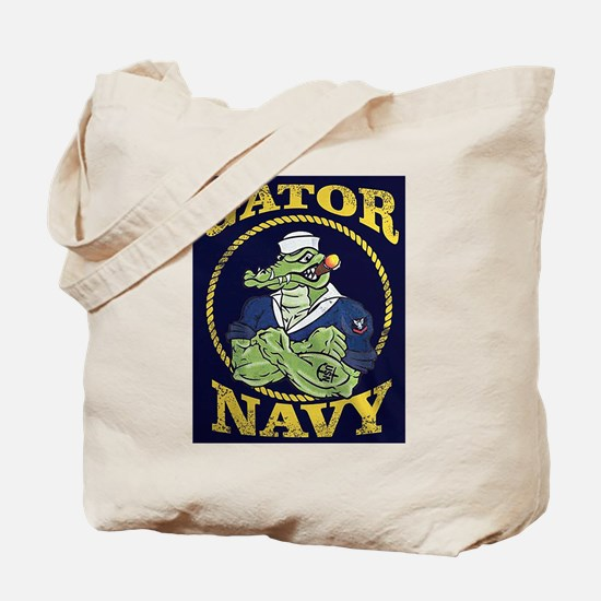 The Gator Navy Tote Bag