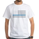 State trooper Mens White T-shirts
