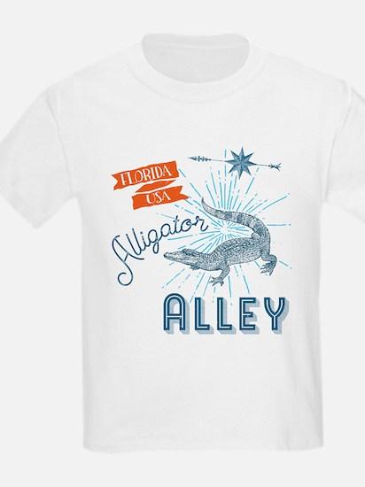 Alligator Alley Florida Everglades T-Shirt