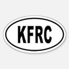 KFRC Oval Decal