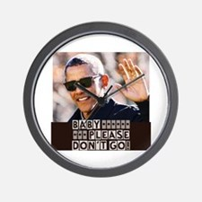 Cute President hope and change Wall Clock