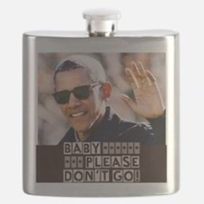 Cute President hope and change Flask